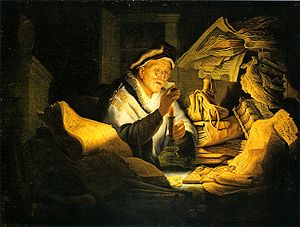 The Parable of the Rich Fool, Rembrandt, 1627.
